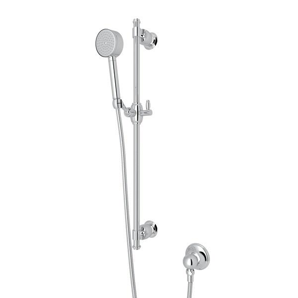 Polished Chrome Michael Berman Zephyr Single-Function Handshower Set