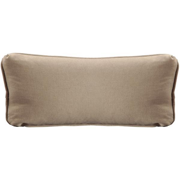 "See Details - Throw Pillows Knife Edge Kidney w/welt (13"" x 27"")"