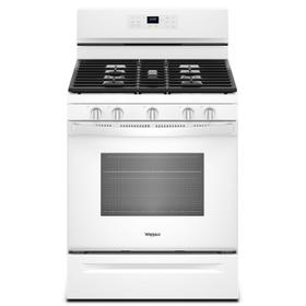 5.0 cu. ft. Whirlpool® gas convection oven with Frozen Bake™ technology White
