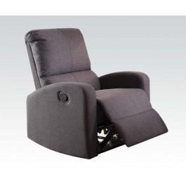 Acme Furniture Inc - Gray Fabric Motion Recliner