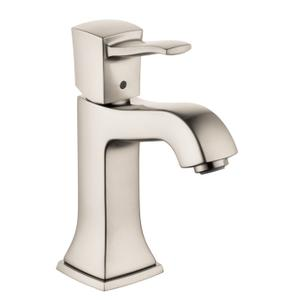 Brushed Nickel Single-Hole Faucet 110 with Pop-Up Drain, 1.2 GPM