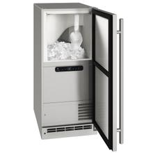 """View Product - Ocl115 / Ocp115 15"""" Clear Ice Machine With Stainless Solid Finish, Yes (115 V/60 Hz Volts /60 Hz Hz)"""