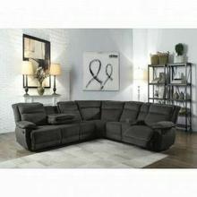 ACME Felipe Sectional Sofa (Motion) - 53320 - Gray Fabric