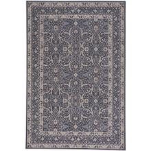 "Metropolis-Ziegler Deep Blue - Rectangle - 3'11"" x 5'6"""