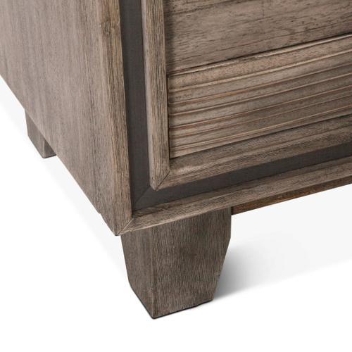 "Driftwood 62"" Dresser Weathered Graywash"
