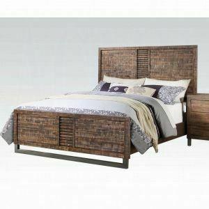 ACME Andria California King Bed - 21284CK - Reclaimed Oak