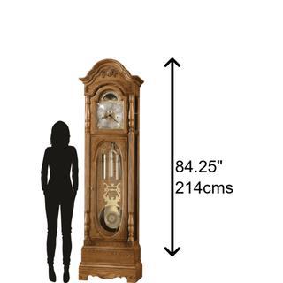 See Details - Howard Miller Schultz Grandfather Clock 611044