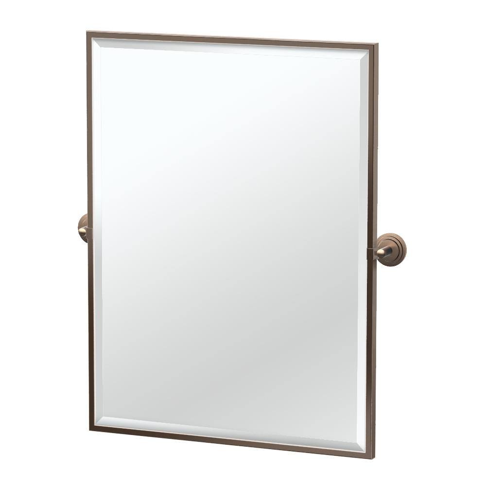 Marina Framed Rectangle Mirror in Bronze