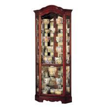 See Details - Howard Miller Jamestown Curio Cabinet 680249