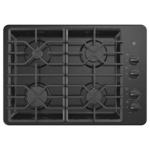 "GE® 30"" Built-In Gas Cooktop with Dishwasher-Safe Grates Product Image"
