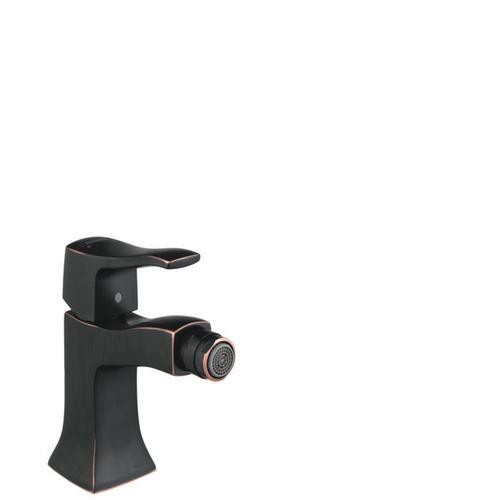 Rubbed Bronze Single-Hole Bidet Faucet