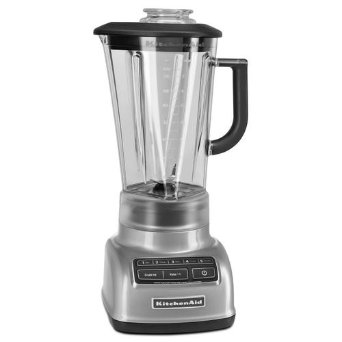 5-Speed Diamond Blender Metallic Chrome