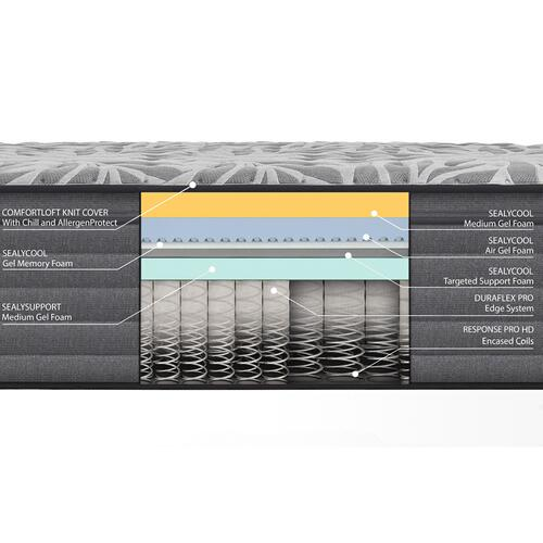 Response - Posturepedic Plus - Determination II - Medium - Pillow Top - Cal King