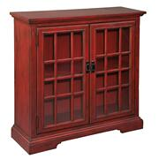 2-7776 Aged Red Hall Chest Product Image