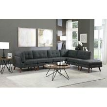 Coaster Dark Grey 6PC Sectional