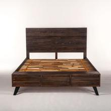 Urban Loft Queen Bed Dark