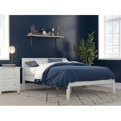 Atlantic Furniture - Boston Full Bed in White