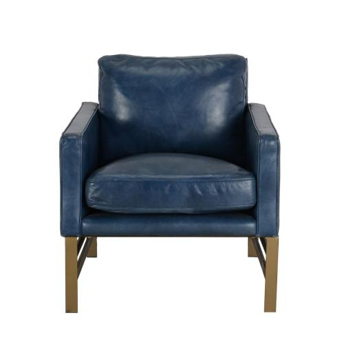 Chazzie Club Chair Blue