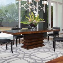 View Product - Zig Zag Dining Table