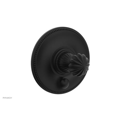 Phylrich - GEORGIAN & BARCELONA Pressure Balance Shower Plate with Diverter and Handle Trim Set PB2361TO - Matte Black