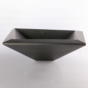Concept II Vessel Sink, Honed Black Granite Product Image