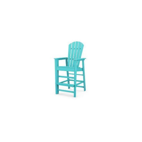 Polywood Furnishings - South Beach Bar Chair in Aruba