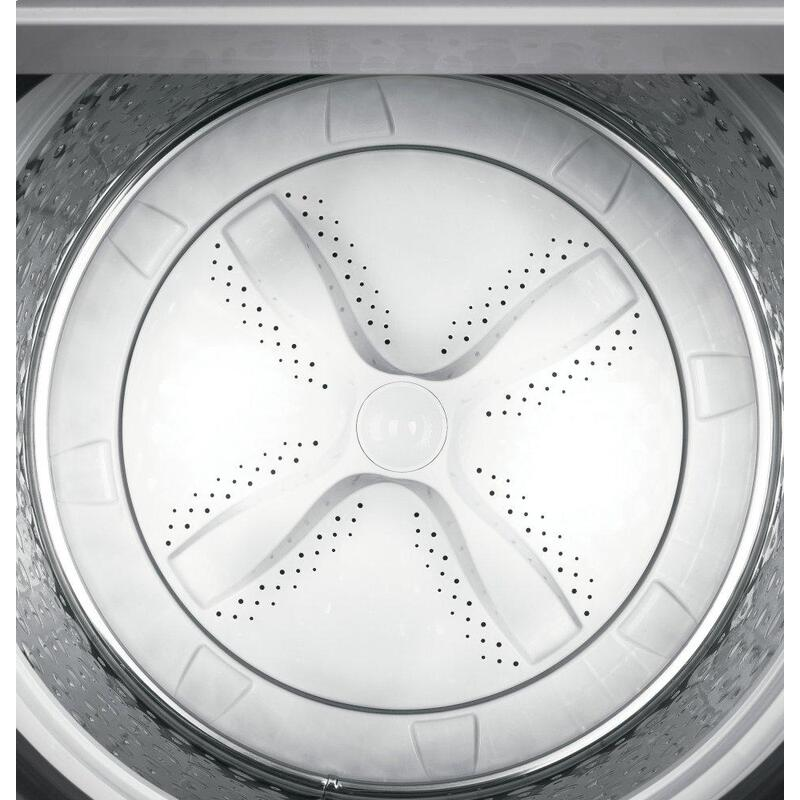 GE® 5.2 cu. ft. Capacity Smart Washer with Sanitize w/Oxi and SmartDispense