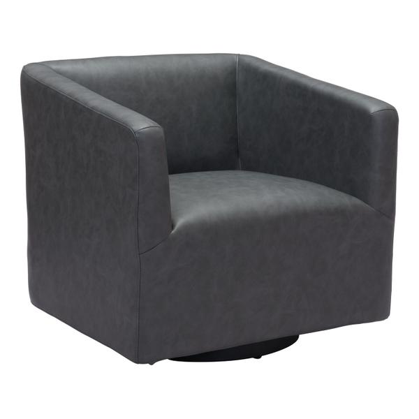 See Details - Brooks Accent Chair Gray