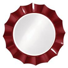 View Product - Corona Mirror - Glossy Burgundy
