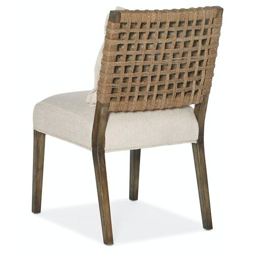 Dining Room Sundance Woven Back Side Chair-2 per ctn/price ea