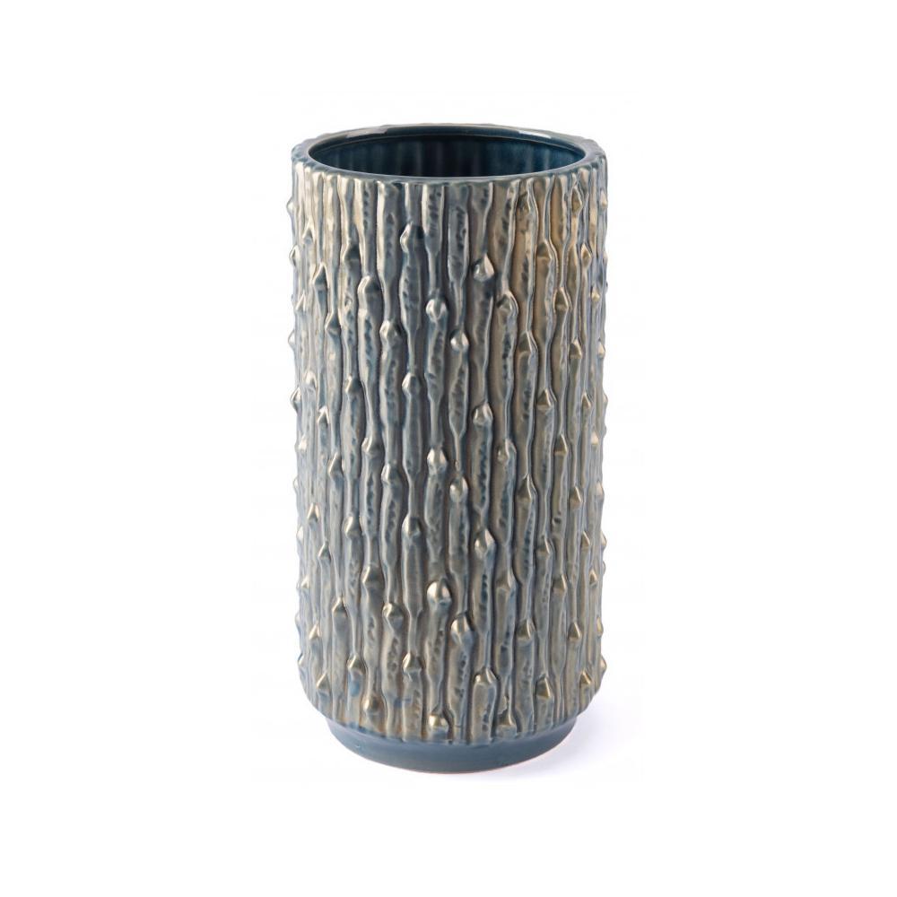 Medium Knot Vase Blue & Gold