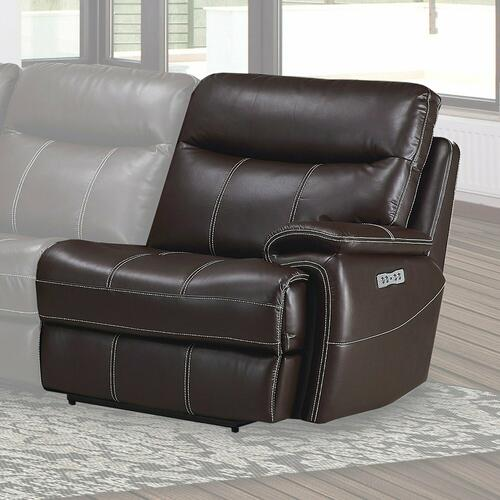 Parker House - DYLAN - MAHOGANY Power Right Arm Facing Recliner