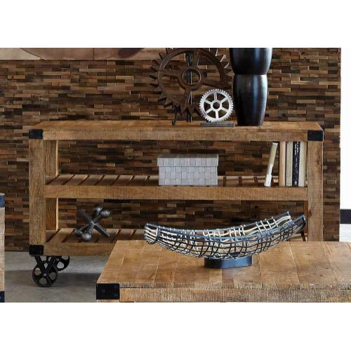 Gallery - Industrial Natural Mango Sofa Table