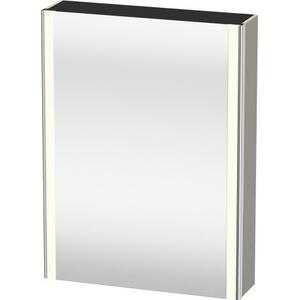 Mirror Cabinet, Taupe Satin Matte (lacquer)