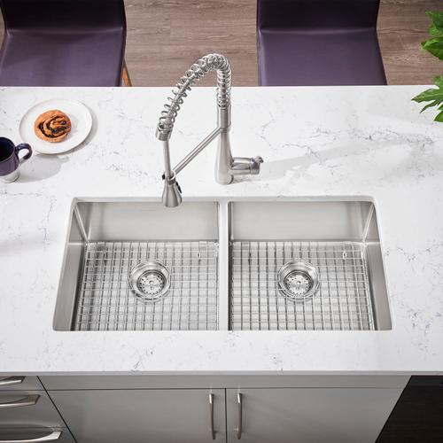 American Standard - Quince 1-Handle Semi-Professional Kitchen Faucet  American Standard - Stainless Steel