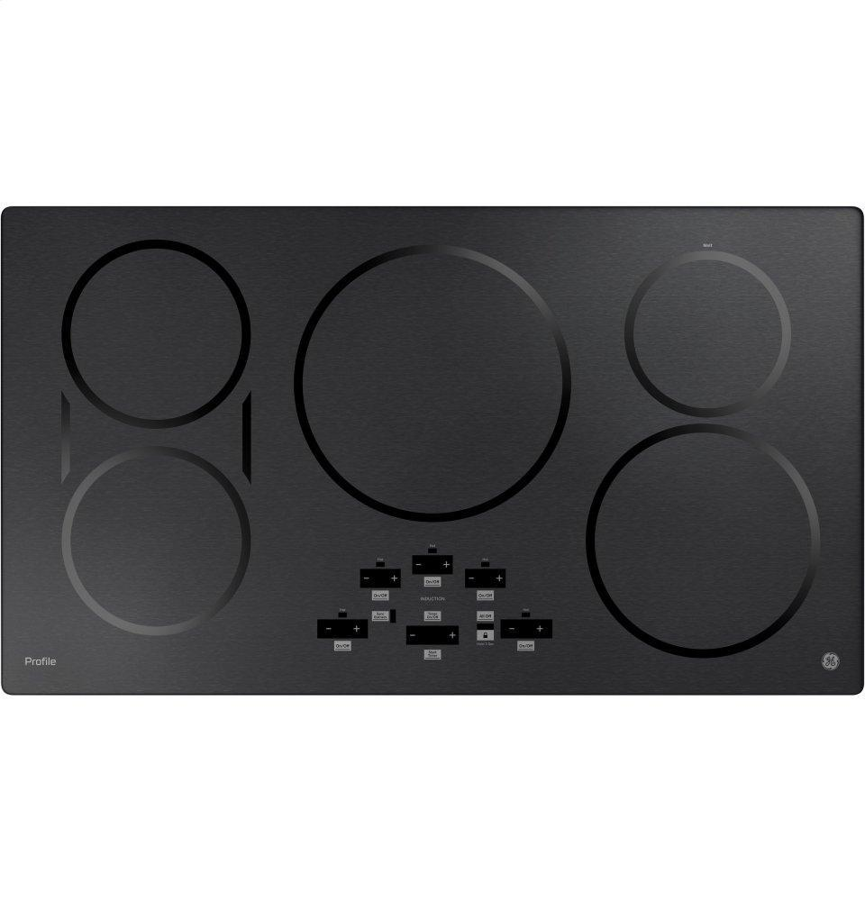 """GE Profile36"""" Built-In Touch Control Induction Cooktop"""
