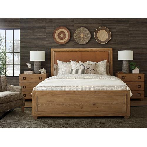 Antilles Upholstered Panel Bed King Headboard