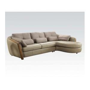 Acme Furniture Inc - Wilko Sectional Sofa W/pillows