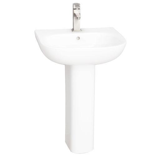 Tonique 450 Pedestal Lavatory - Single-Hole