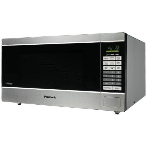Panasonic - Full Size 1.6 Cu. Ft. Counter Top Microwave Oven with Inverter Technology