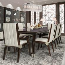 View Product - Rectangular Dining Table (includes: 2 X 24 Leaves)