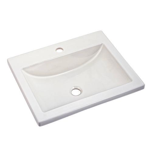 American Standard - Studio drop-in sink  American Standard - White