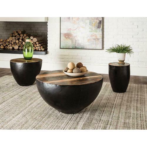 Gallery - Industrial Black End Table