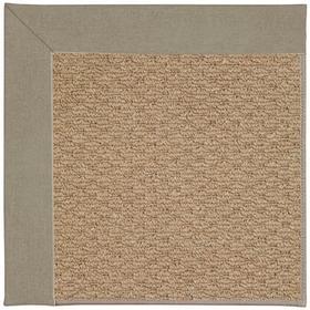 "Creative Concepts-Raffia Canvas Taupe - Rectangle - 24"" x 36"""