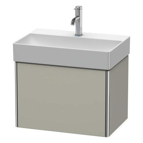 Product Image - Vanity Unit Wall-mounted Compact, Taupe Satin Matte (lacquer)