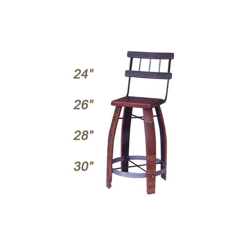 Product Image - Stool With Back