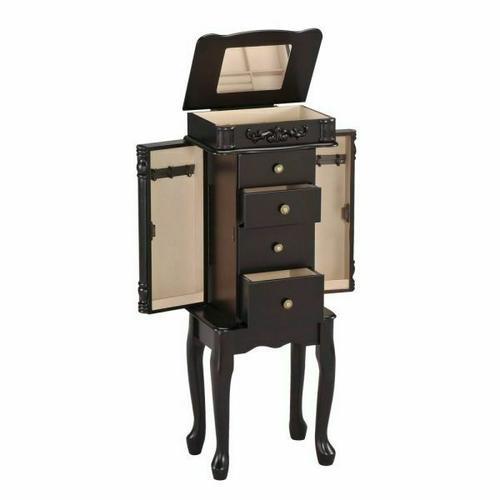 ACME Tiana Jewelry Armoire - 16008 - Espresso