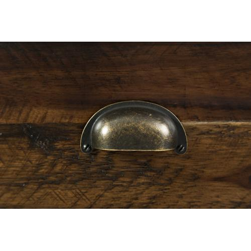 Artisan's Craft Chairside Table - Dakota Oak