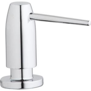 "Elkay 1-3/4"" x 4-1/2"" x 3"" Soap / Lotion Dispenser, Chrome (CR) Product Image"