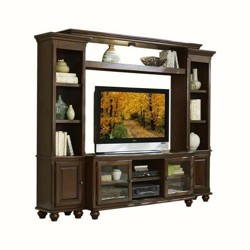 Homelegance - 4pc Set (TV+LSP+RSP+B)